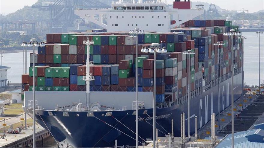 El Canal de Panamá marca un récord de tonelaje tras un alza del 6,2 % en 2019