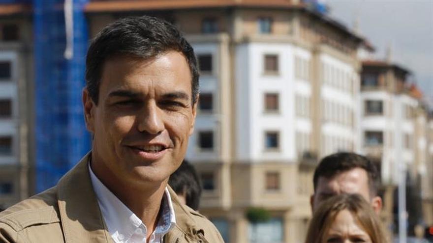 Sánchez pide votar para no caer en agenda soberanista de PNV, Bildu y Podemos