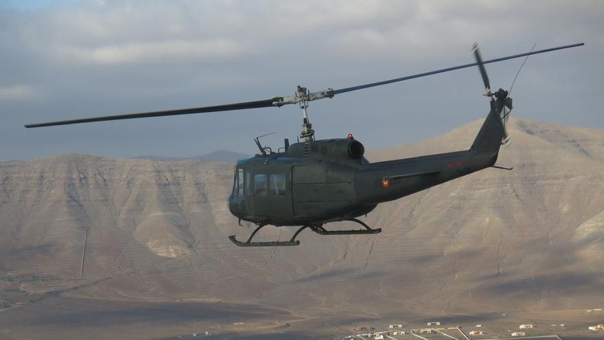 Helicóptero militar / Foto cedida
