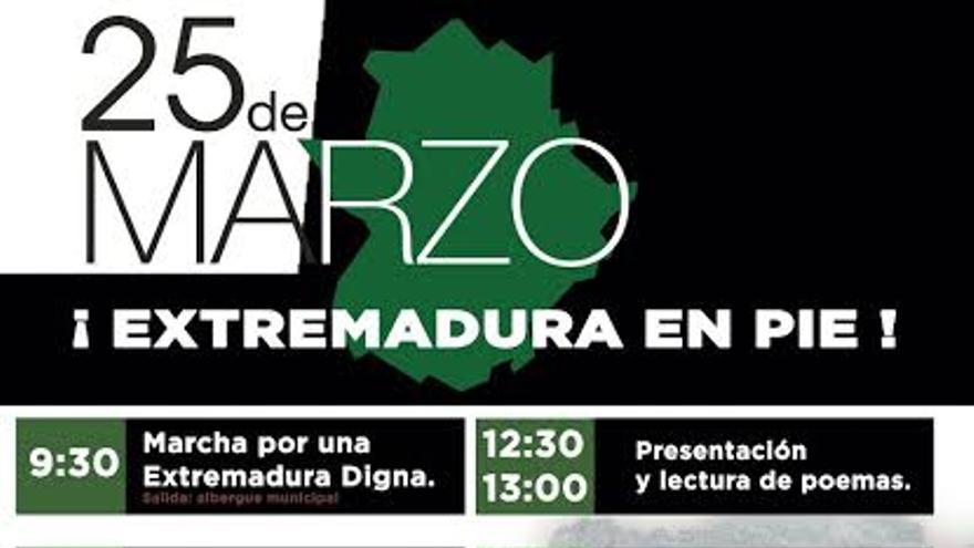 25 marzo cartel Extremadura