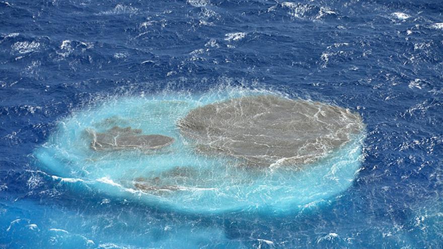 Nuevas manchas en el Mar de las Calmas. (GOBIERNO DE CANARIAS)