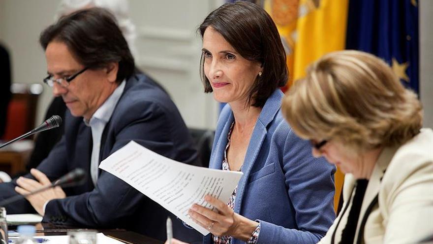 La consejera de Turismo, Cultura y Deportes, María Teresa Lorenzo.