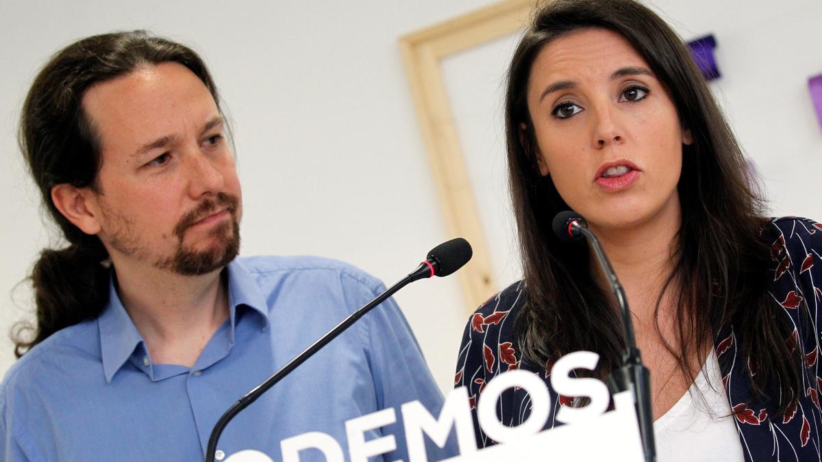 Pablo Iglesias e Irene Montero en una imagen de archivo.