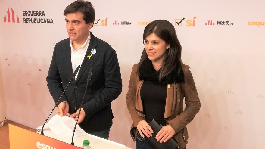 """Sabrià (ERC) afirma que la cárcel no frenará """"el proceso hacia la república"""""""