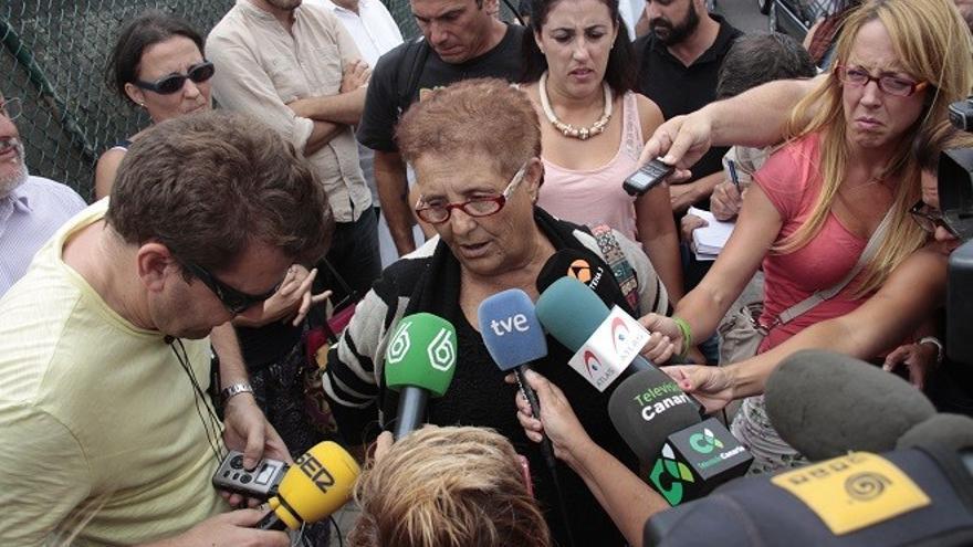 Josefa, la 'abuela de Fuerteventura'.