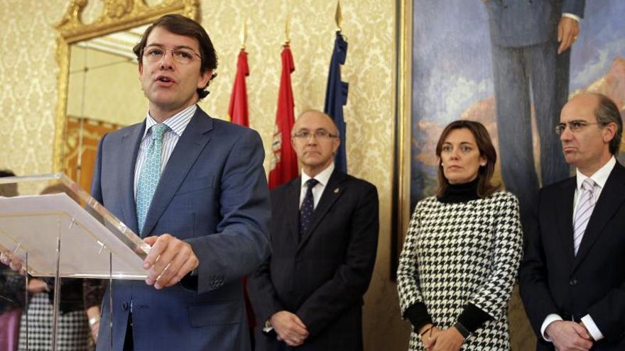 El PP culpa a una minoría de extrema izquierda de la violencia en Burgos