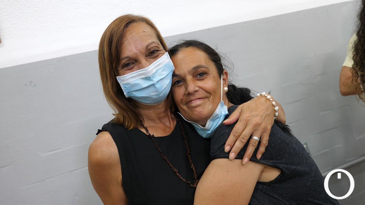 Isabel y su tía son integrantes del Coro Gospel 'Libertad' y personas sin hogar
