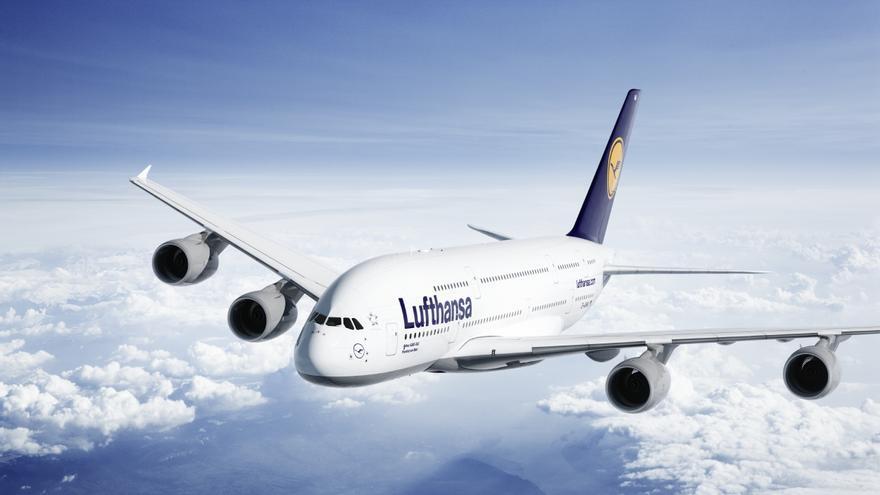 Lufthansa cancela 187 vuelos por la huelga de tripulantes de cabina, diez a España