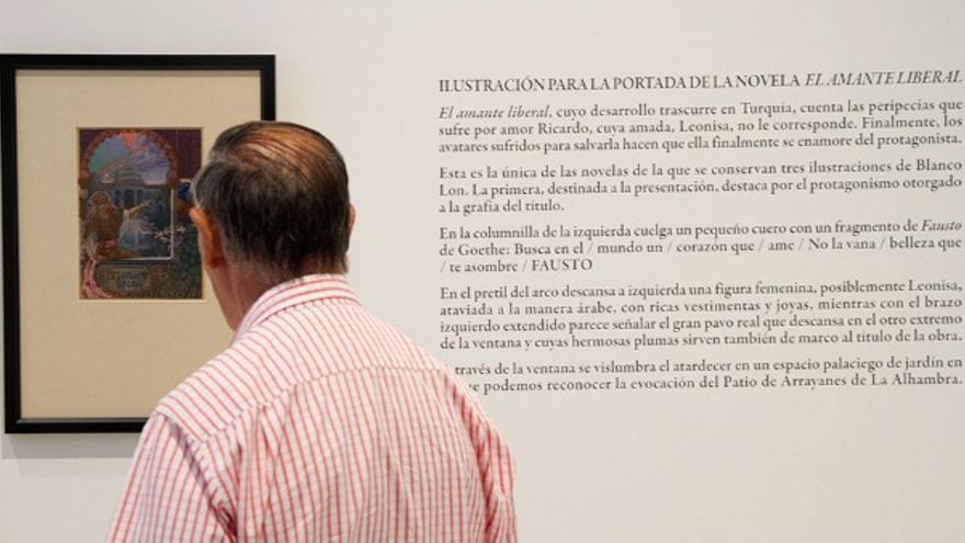 La Diputación Provincial ha homenajeado a Cervantes a través de 12 dibujos realizados por Antonio Blanco Lon