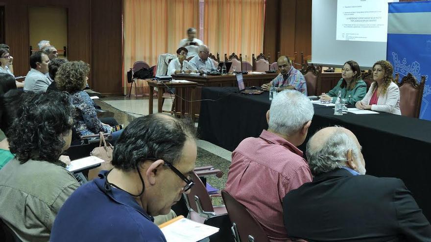 Presentación del Pacto por la Educación en Canarias en Lanzarote.