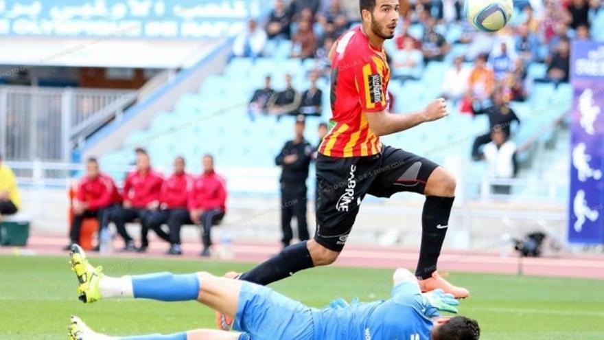 El delantero tunecino Haythem Jouni.