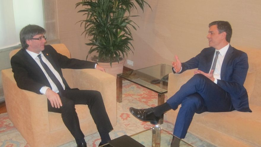 Puigdemont acusa a Pedro Sánchez de haber renunciado a gobernar
