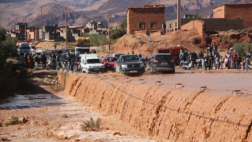 Doscientas cincuenta poblaciones marroquíes aisladas por nieve o inundaciones