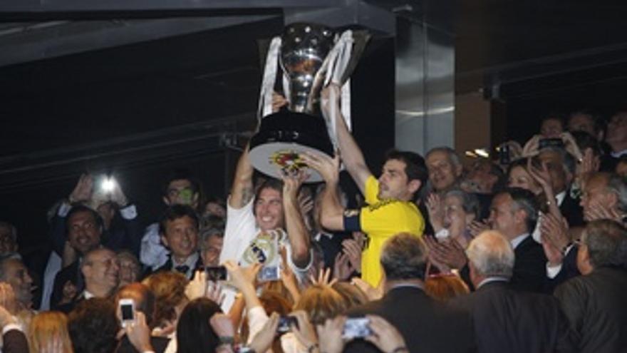 Real Madrid Copa Liga Casillas Ramos