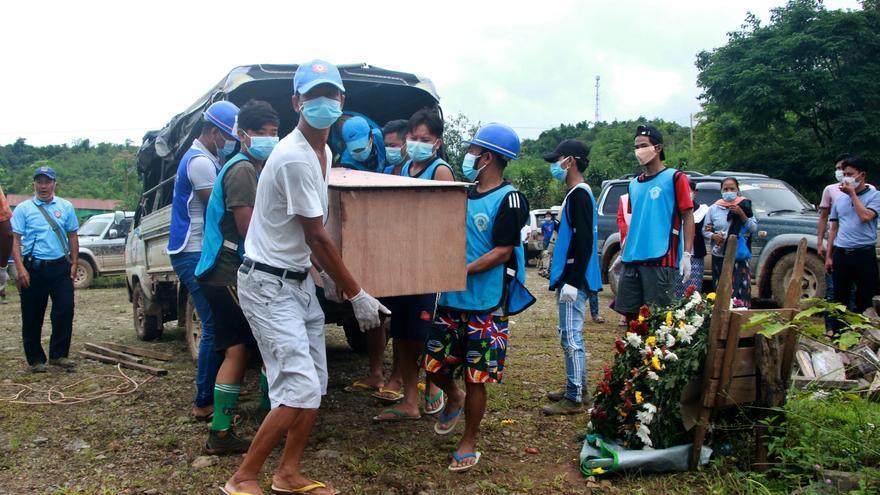 Al menos un muerto en bombardeos del Ejército birmano contra los kachin
