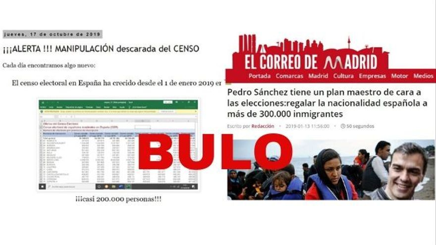 Los bulos de supuestos pucherazos para las elecciones del 10N por la nacionalización de inmigrantes