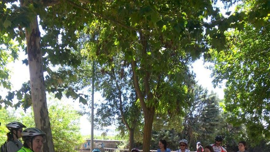'Bicicuento' actividad de la biblioteca de Cabanillas del Campo