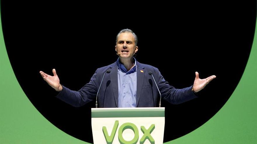 """Vox dice que no quiere cambiar """"ni una coma"""" del acuerdo PP-Cs para Andalucía"""