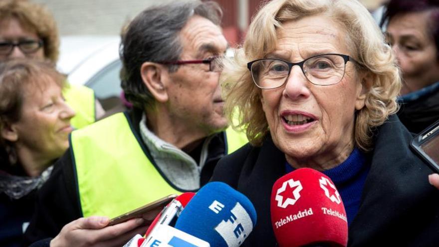 """Carmena dice que la candidatura de Pepu Hernández (PSOE) es """"estupenda"""""""