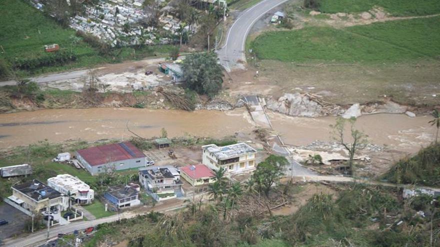 Puerto Rico continúa en una situación crítica y sin apenas servicio eléctrico