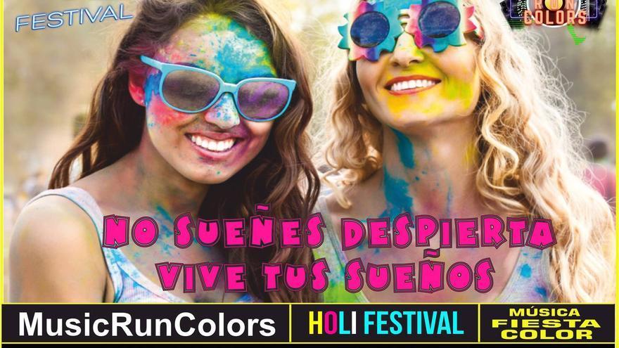 La Music Run Colors servirá este año también para promocionar la prueba de la Copa del Mundo de triatlón en Huelva