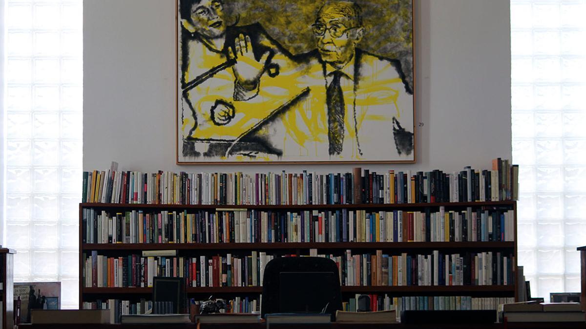 Biblioteca de José Saramago en A Casa, Lanzarote.