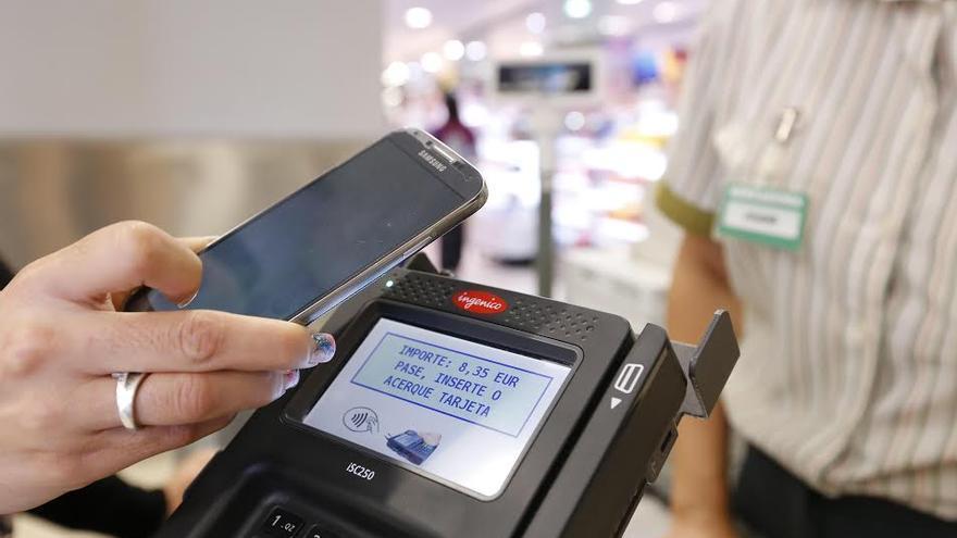Tecnología 'Contactless' (pago por proximidad)