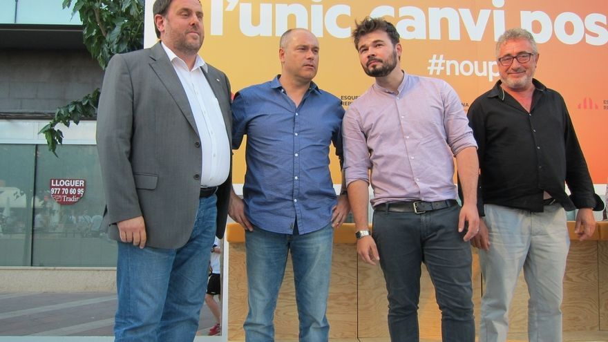 "Junqueras sobre Iglesias: ""A cambio de 4 ministerios renunciará al referéndum"""