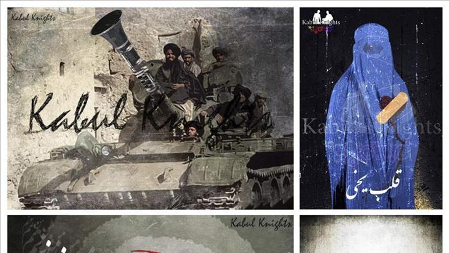 El arte de denuncia de los Kabul Knights sacude los estereotipos afganos