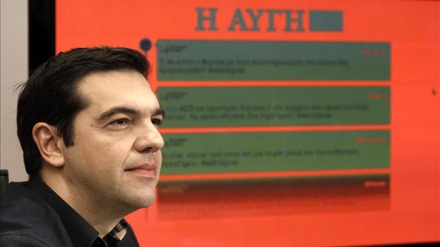 Tsipras asegura que Syriza aplicará un sistema impositivo justo, sin subidas. \ Efe