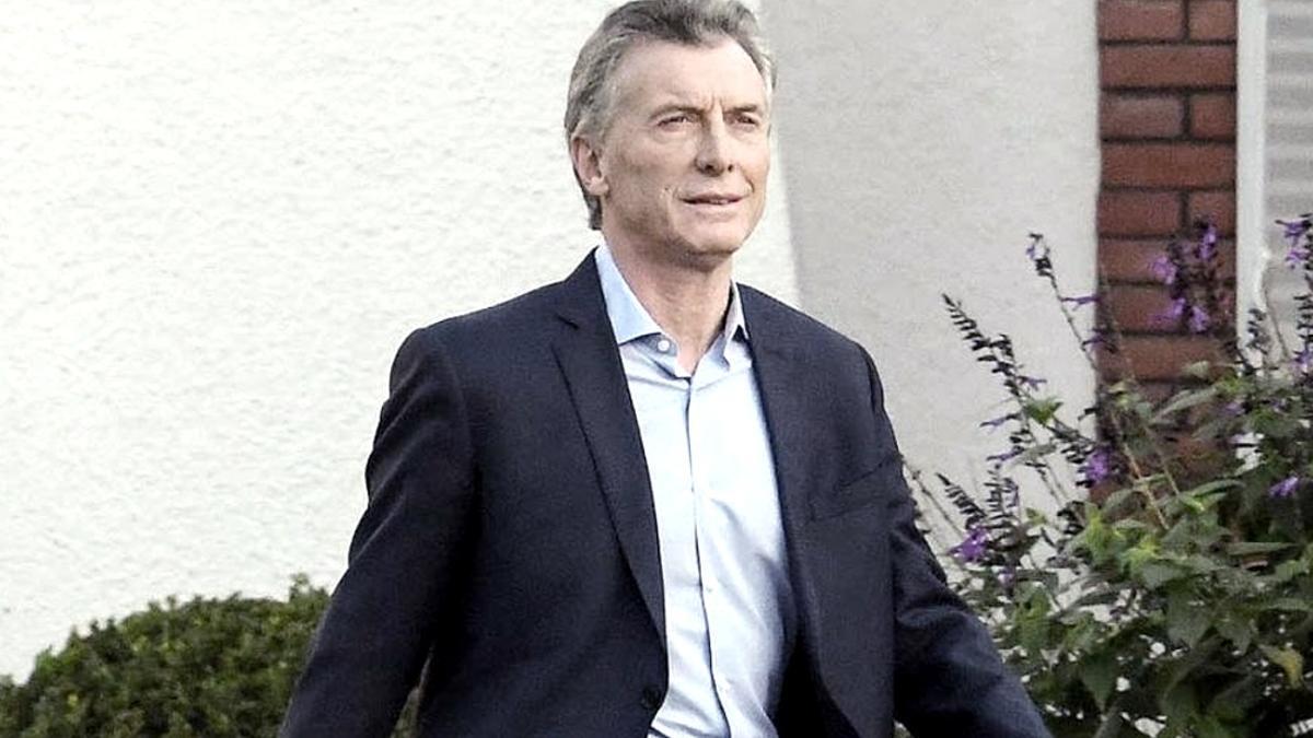 El expresidente Mauricio Macri