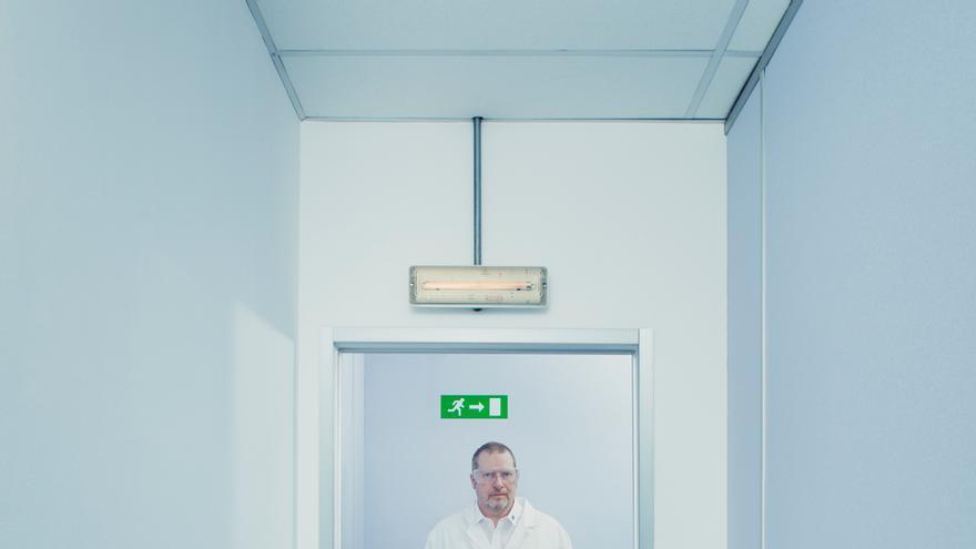 Dirk Bruere, secretario del Partido Transhumanista, una formación que aboga por invertir en ciencia y tecnología