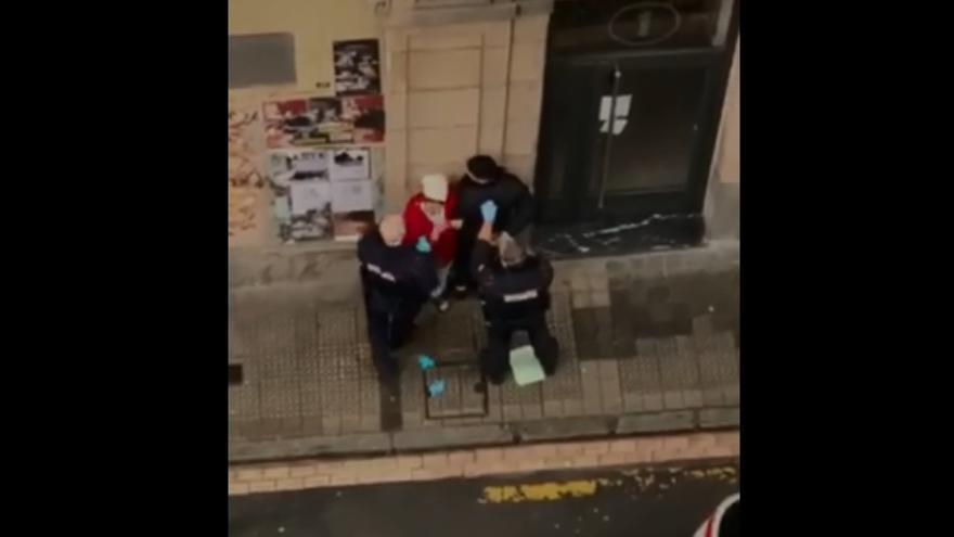 Detención policial en San Francisco, Bilbao