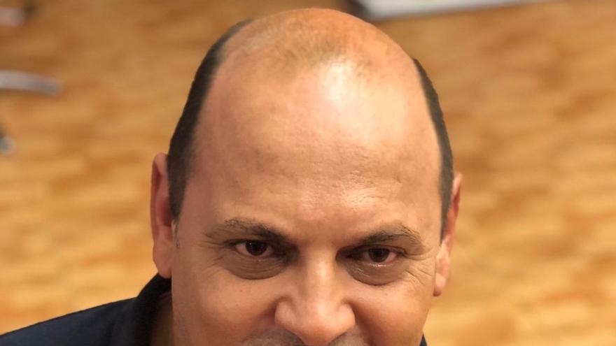 Teo Morales, secretario general de Podemos en Los Realejos