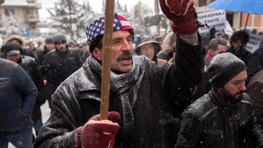 Manifestantes en Pristina piden que Haradinaj sea puesto en libertad
