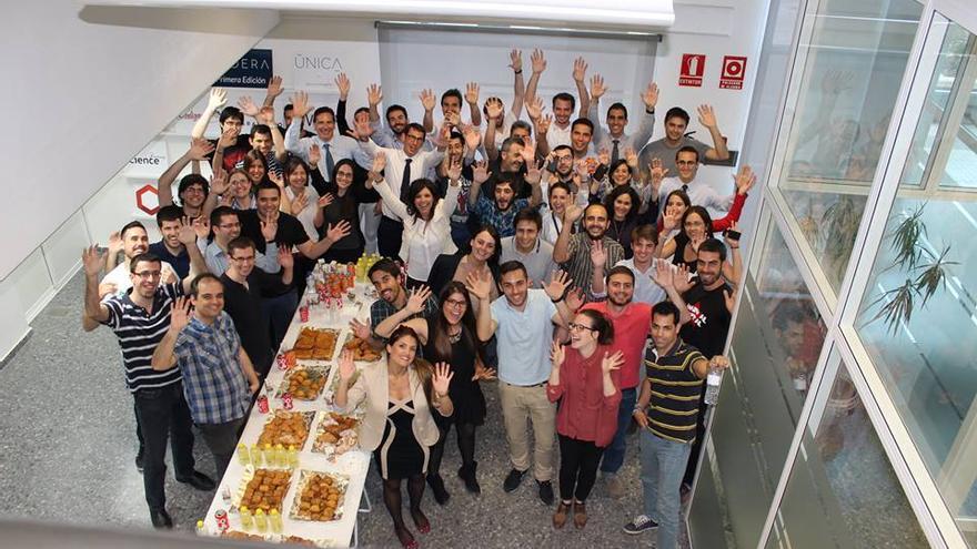 Los participantes de Lanzadera, la aceleradora de Juan Roig
