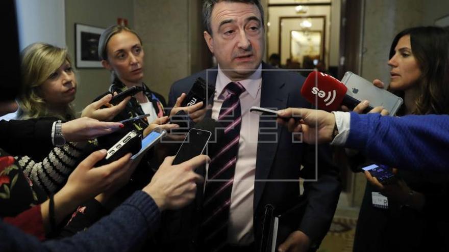 """El PNV decidirá """"momento a momento"""" en la tramitación de los Presupuestos"""