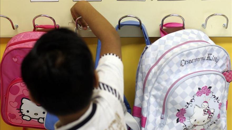 Las escuelas infantiles se quedan sin alumnos. \ EFE