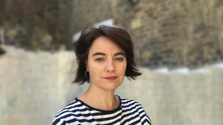 La periodista Ana Carbajosa, autora de 'Angela Merkel. Crónica de una era' (Península).