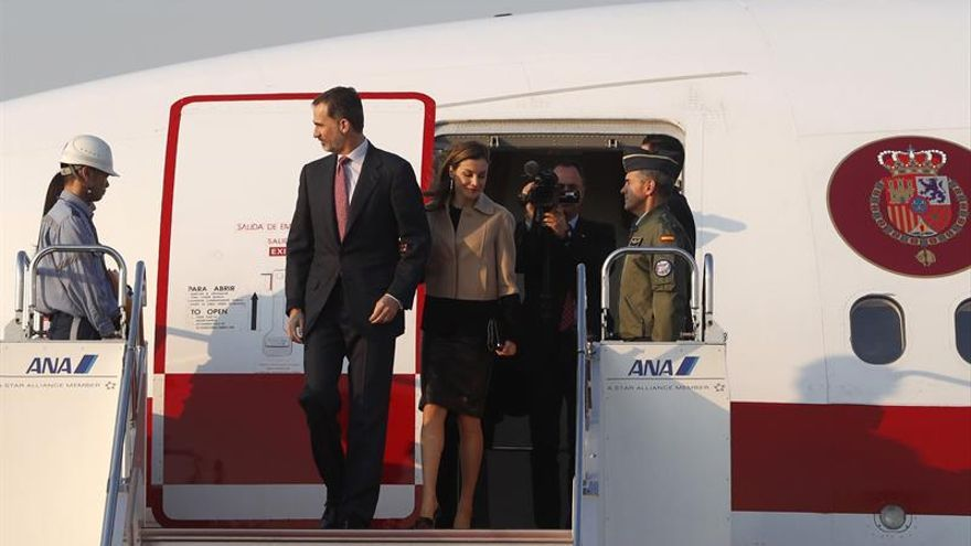 Los reyes de España llegan a Japón en un momento clave para la cooperación económica