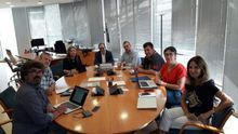 Una reunión del Consell Rector de la Corporació Valenciana de Mitjans de Comunicació (CVMC)