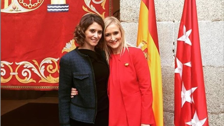 Isabel Díaz Ayuso y Cristina Cifuentes