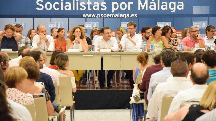 El PSOE de Málaga aprueba por un 97% su candidatura única para el congreso regional