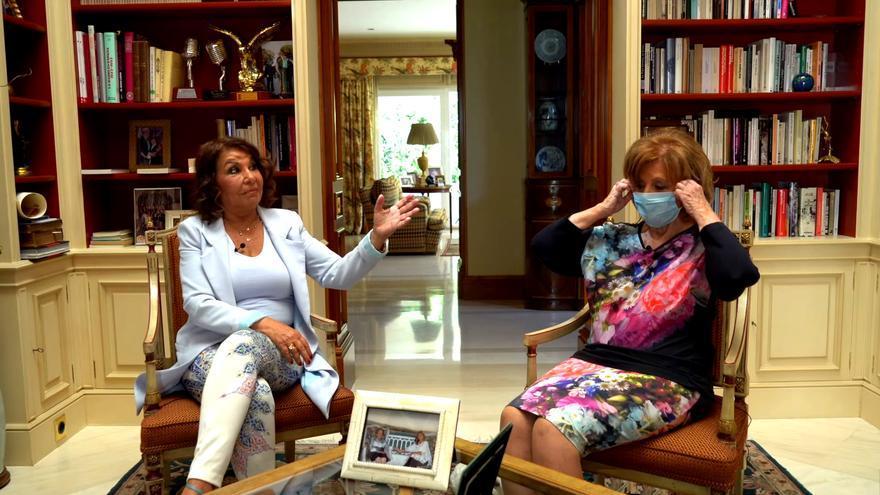 María Teresa Campos y Meli Camacho, 'Enredadas en la Red'