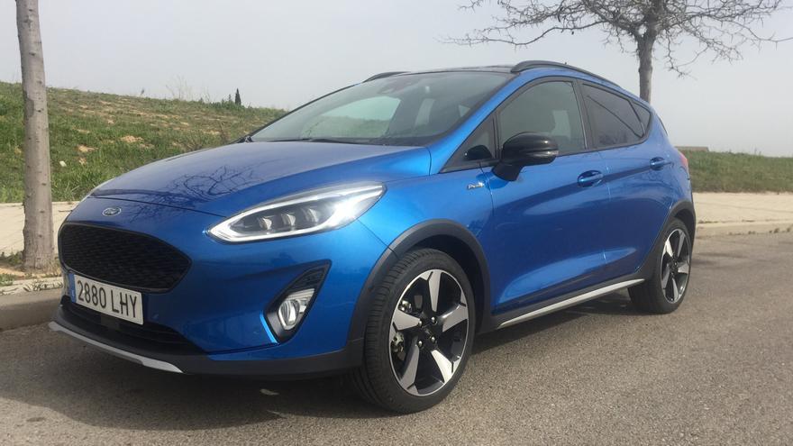 Prueba del Ford Fiesta Active microhíbrido: el encanto de la sencillez y la tecnología justa