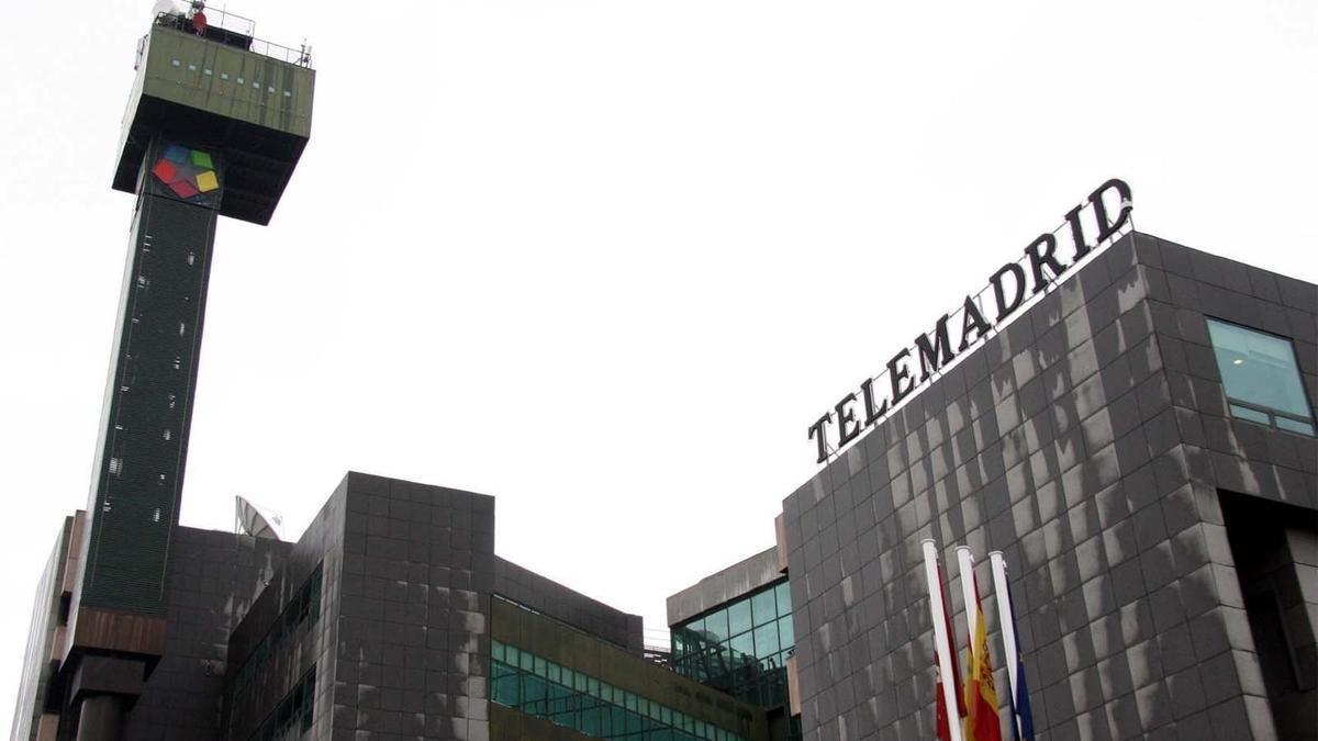 Sede de Telemadrid en una imagen de archivo.