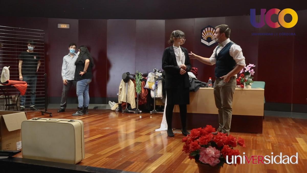 Grupo de teatro de la UCO