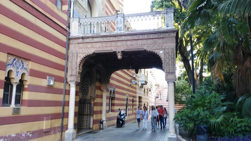 El Palacio Municipal, sede del Ayuntamiento sanluqueño.