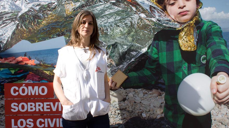 Laura Delgado de Médicos Sin Fronteras / Elisa Reche