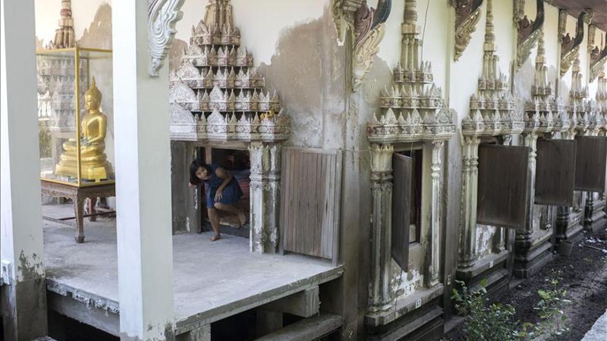 La resistencia numantina de un templo tailandés ante la subida del mar